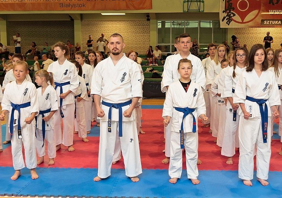 II Międzynarodowe Mistrzostwa Karate 10.06.2017 Białystok